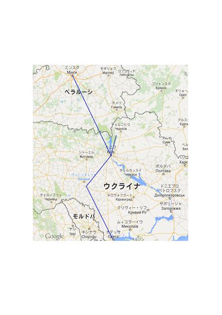 東欧地図採用