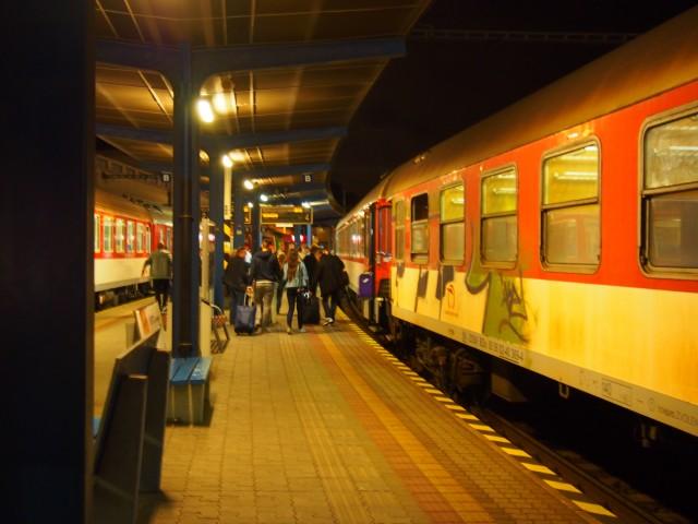 筆者撮影 ブラチスラバ中央駅