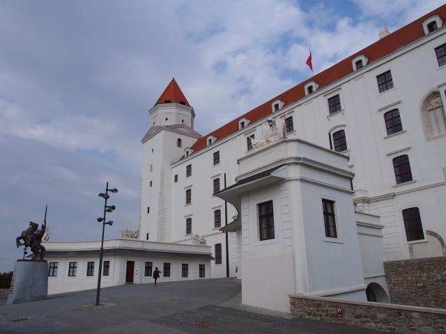 筆者撮影 ブラチスラバ城