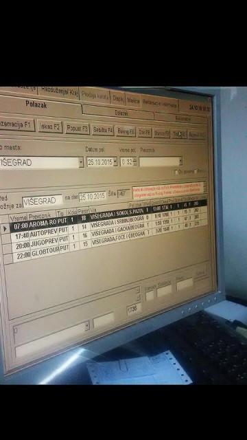 ベオグラードで見せつけられた時刻表