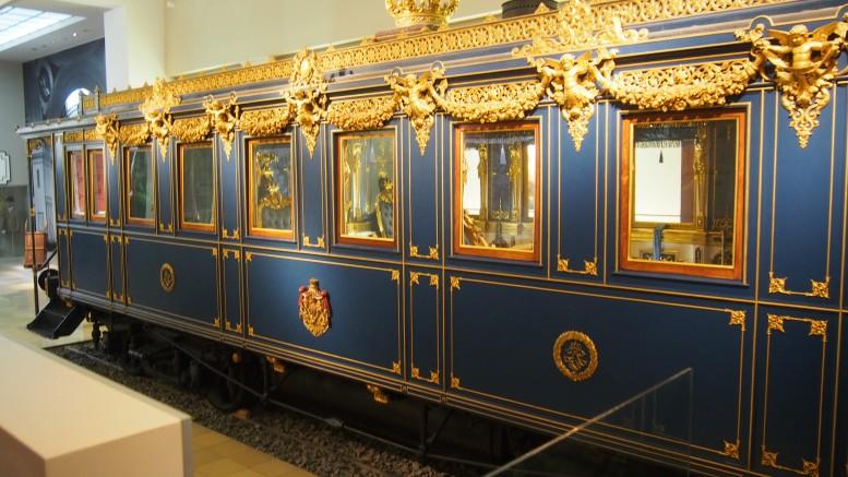 国王が乗ったお召し列車