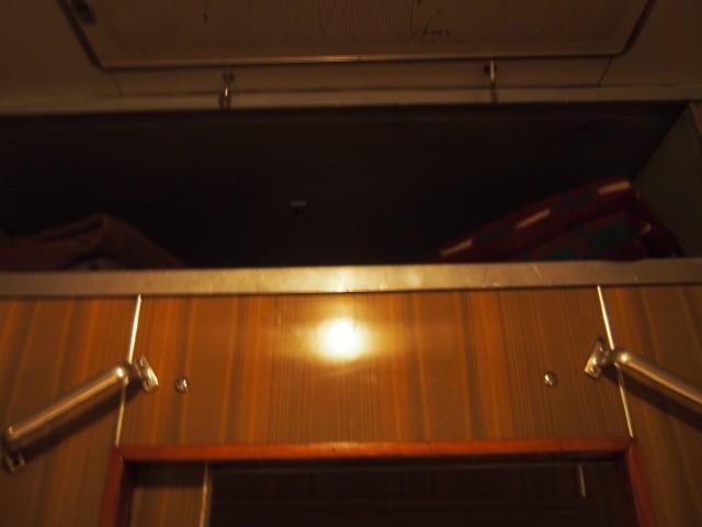 ドア上にある上部スペース