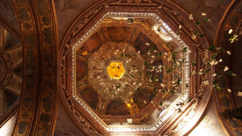 筆者撮影 チェコ オロモウツの教会