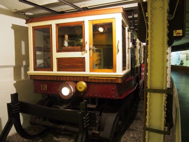 ブダペストにある地下鉄博物館