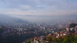 サラエボ。ボスニア紛争ツアーに参加した時の写真