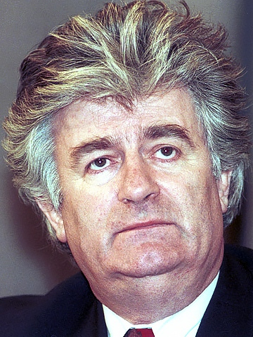 スルプスカ共和国の代表、カラジッチ。Wikipediaから