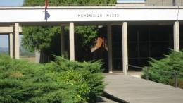 ヤセノヴァツ強制収容所跡に立つ博物館
