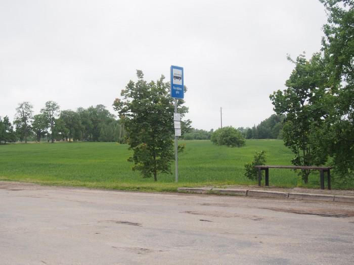 バス停「ルンダーレ宮殿」