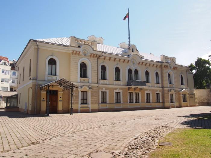 カウナスにある旧大統領官邸