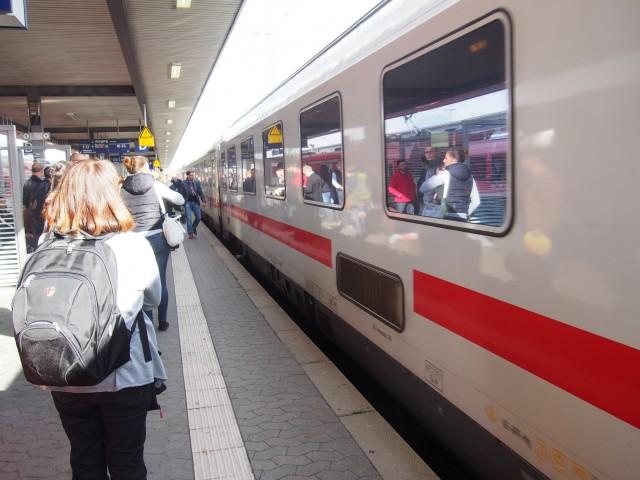 筆者撮影 ニュルンベルク駅