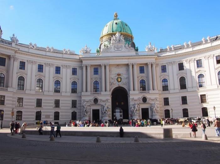 チェコを支配したウィーンにある旧王宮